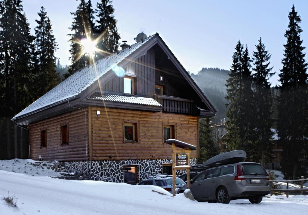 Apartmány Skihouse Jasná during the winter
