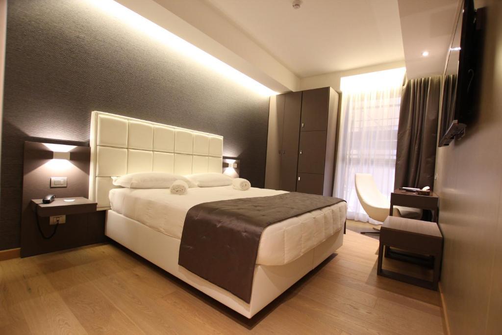 バヴィエラ モキンバ ホテルズにあるベッド