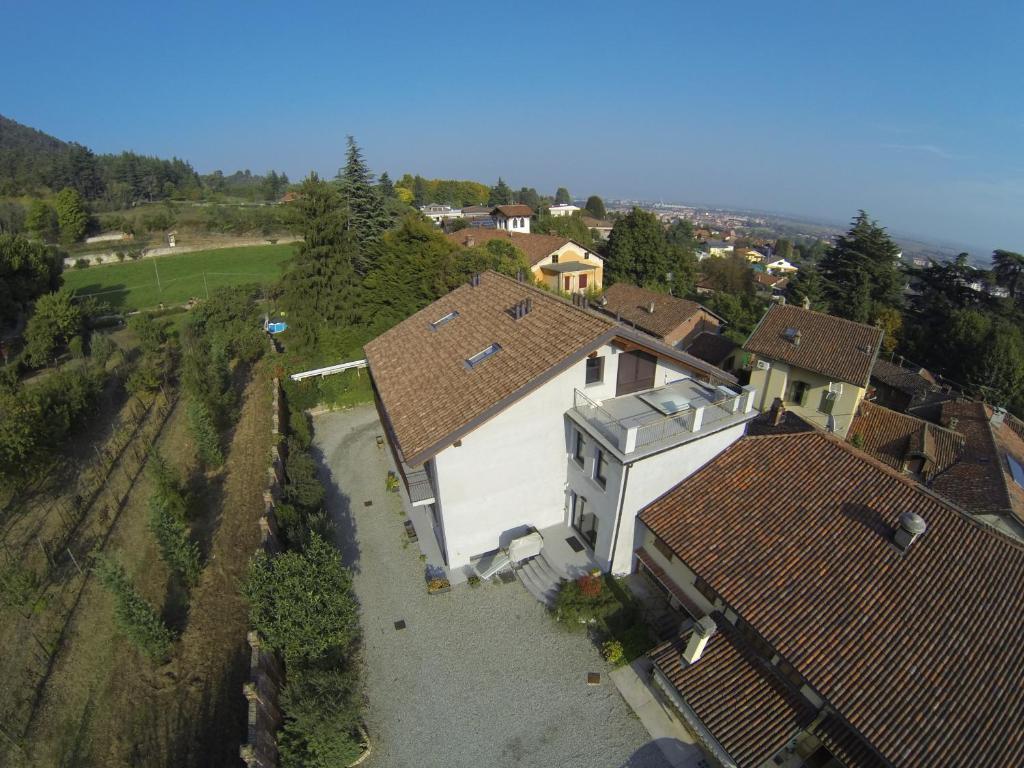 Vista aerea di Hotel e Trattoria San Giorgio