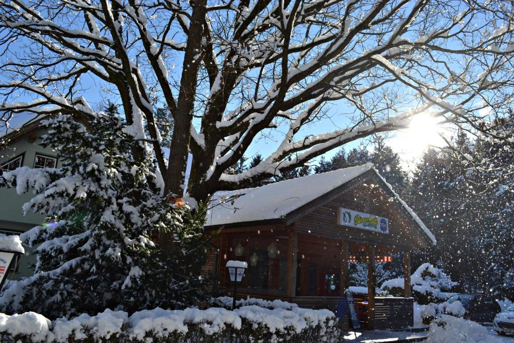Römerhütte im Winter