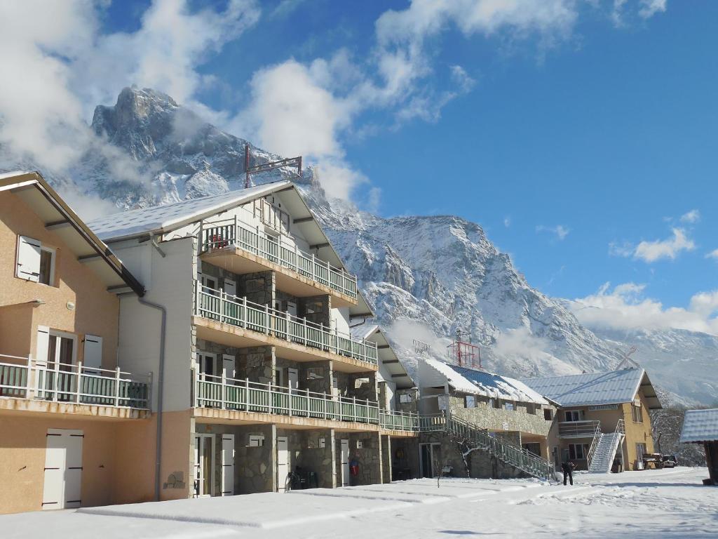 L'établissement Hotel Restaurant Lancheton en hiver