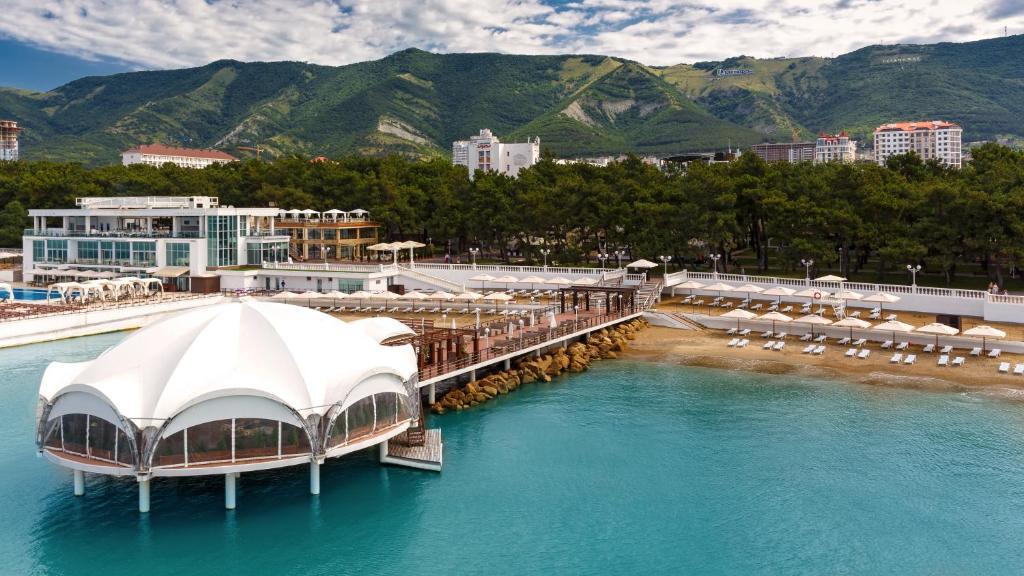 Приморье Grand Resort Hotel с высоты птичьего полета
