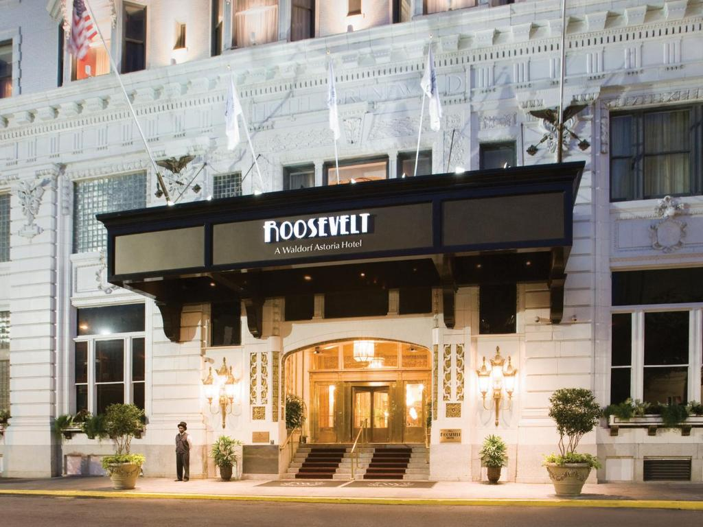Hotels In New Orleans >> The Roosevelt Hotel New Orleans Waldorf Astoria Hotels