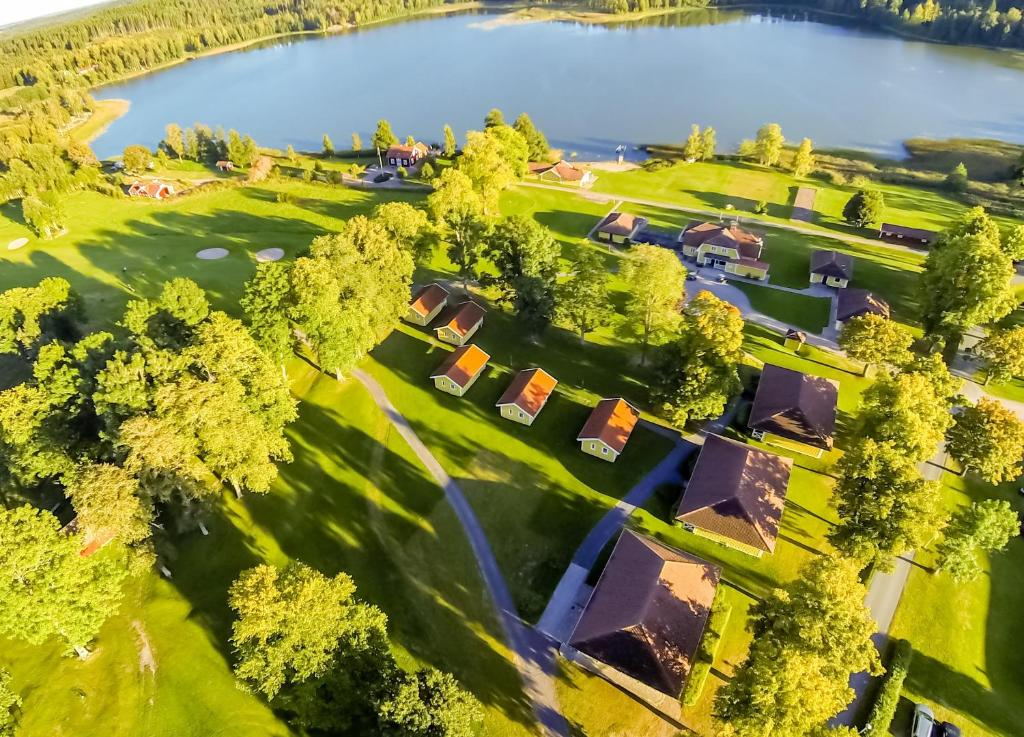Άποψη από ψηλά του Wiredaholm Golf & Konferens