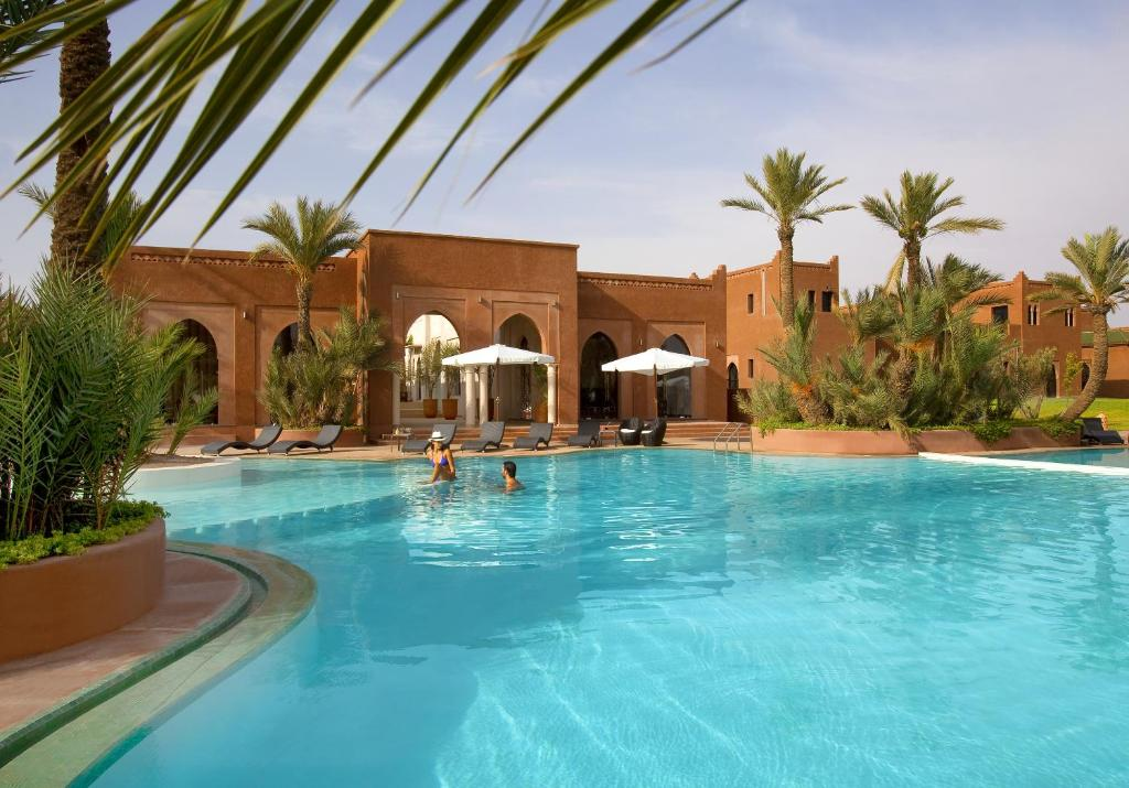 The swimming pool at or near Residence Dar Lamia Marrakech