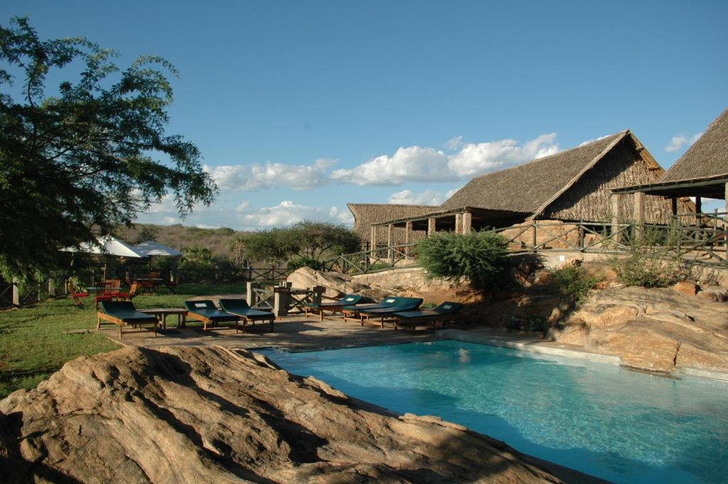 The swimming pool at or near Maneaters
