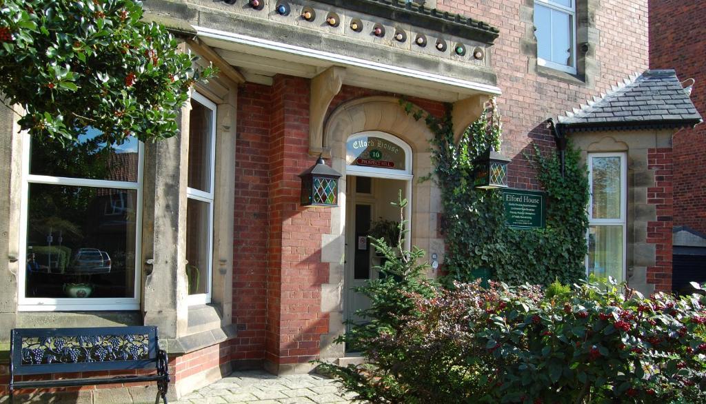 The facade or entrance of Elford House