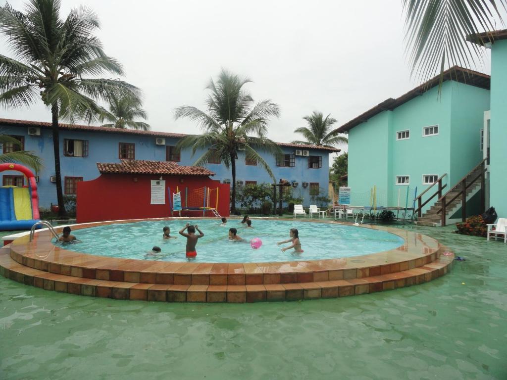 The swimming pool at or near Apartamento Porto Seguro