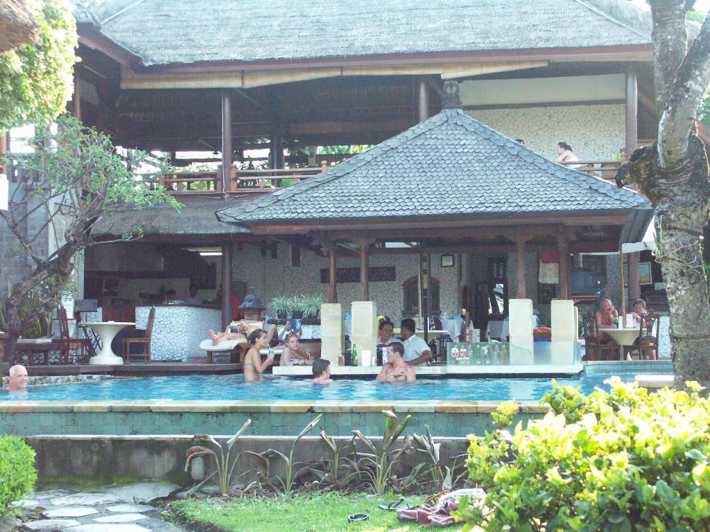The swimming pool at or near Balisani Padma Hotel
