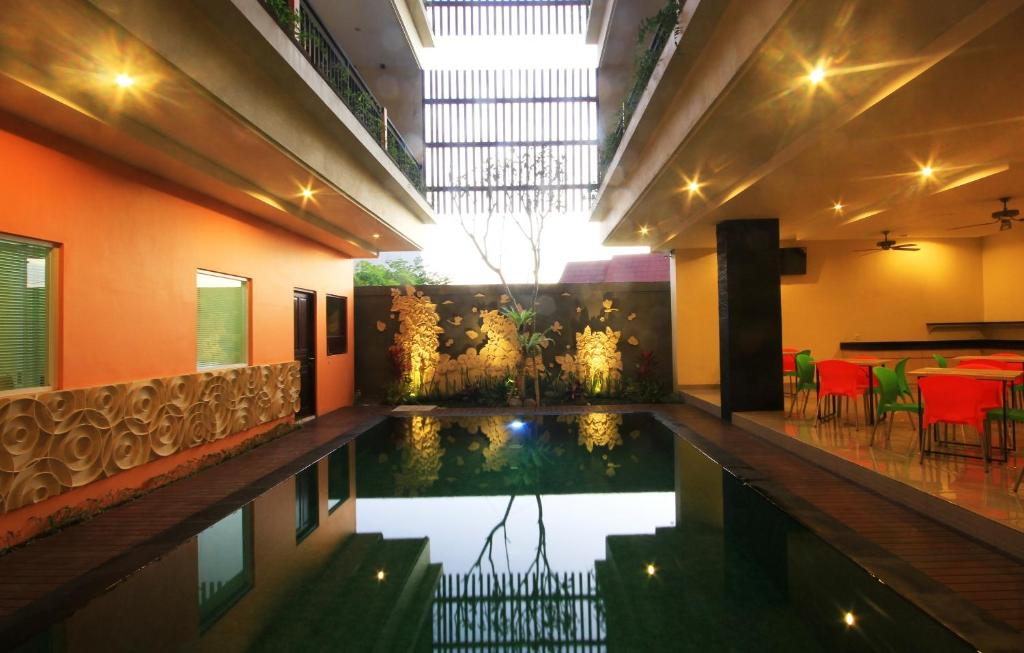 The swimming pool at or near The Agung Residence