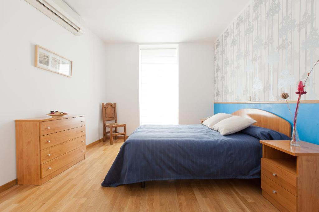 Letto o letti in una camera di Hostal Montaloya