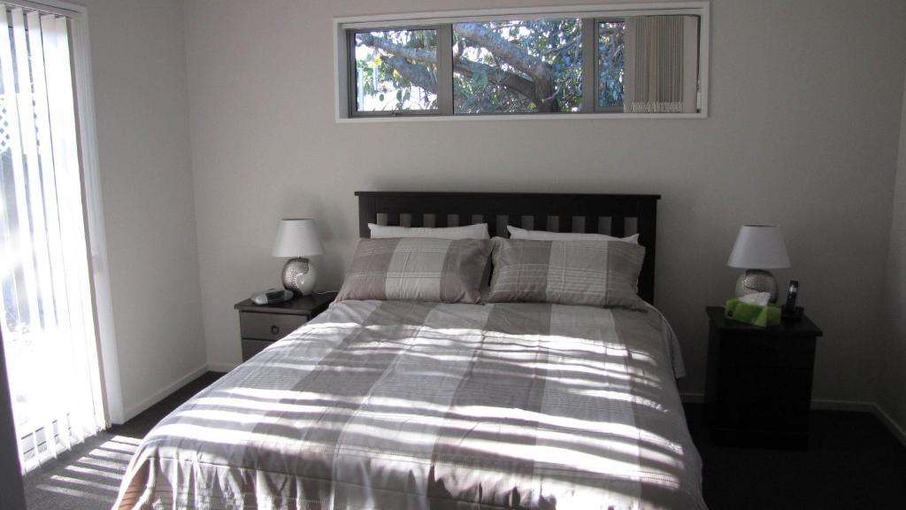 Vuode tai vuoteita majoituspaikassa A Gem of Comfort 2