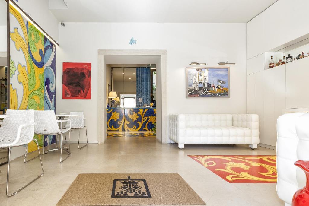 Area soggiorno di Porta del Tocco Design Rooms