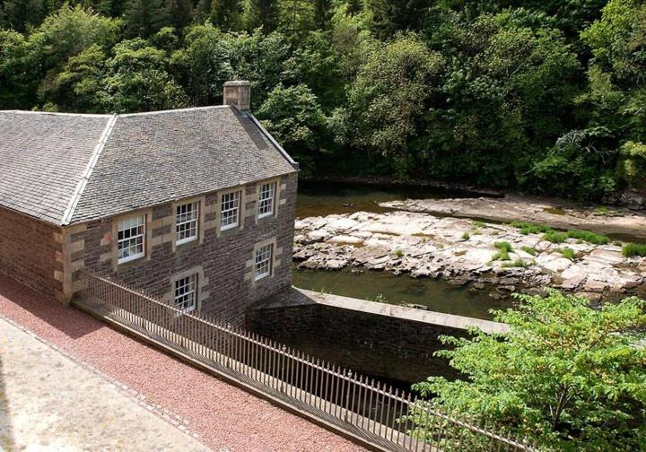 A bird's-eye view of New Lanark Self Catering Waterhouses