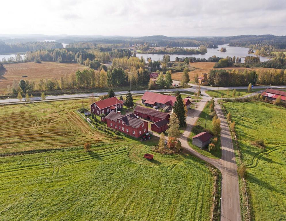 A bird's-eye view of Lemettilä Countryside Accommodation