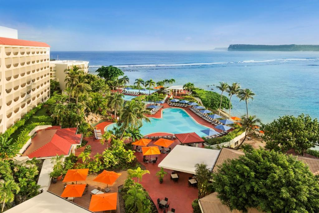 A view of the pool at Hilton Guam Resort & Spa or nearby