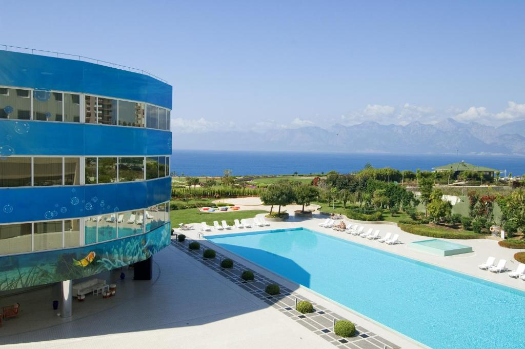 A view of the pool at The Marmara Antalya or nearby