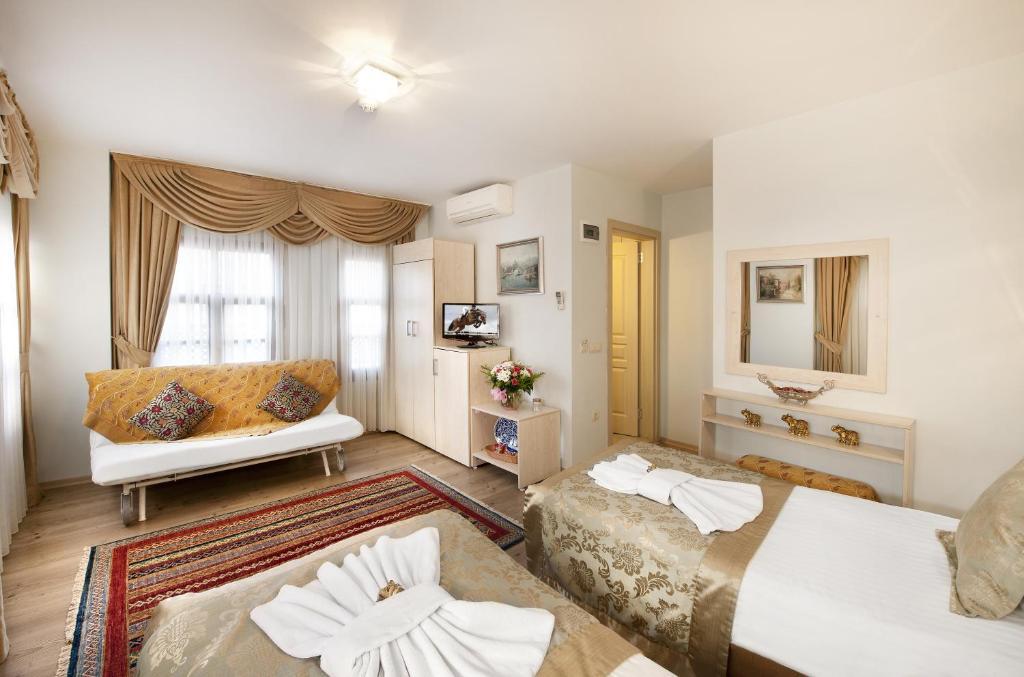 Гостиная зона в Sultan House