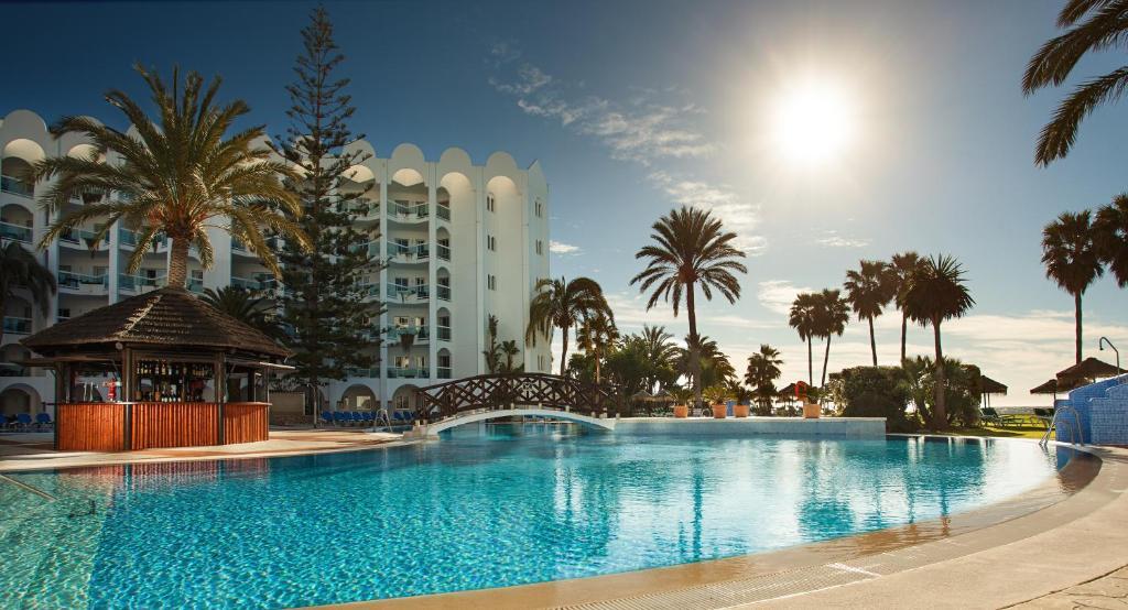 The swimming pool at or near Marinas de Nerja Beach & Spa