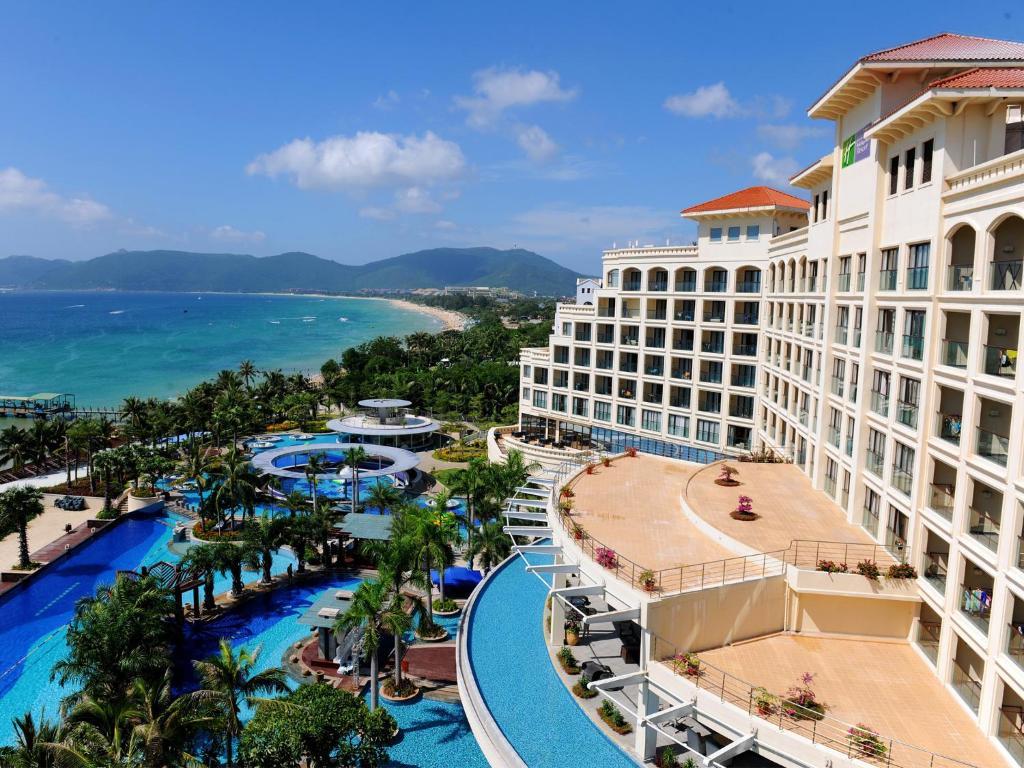 Ocean View Resort Yalong Bay с высоты птичьего полета