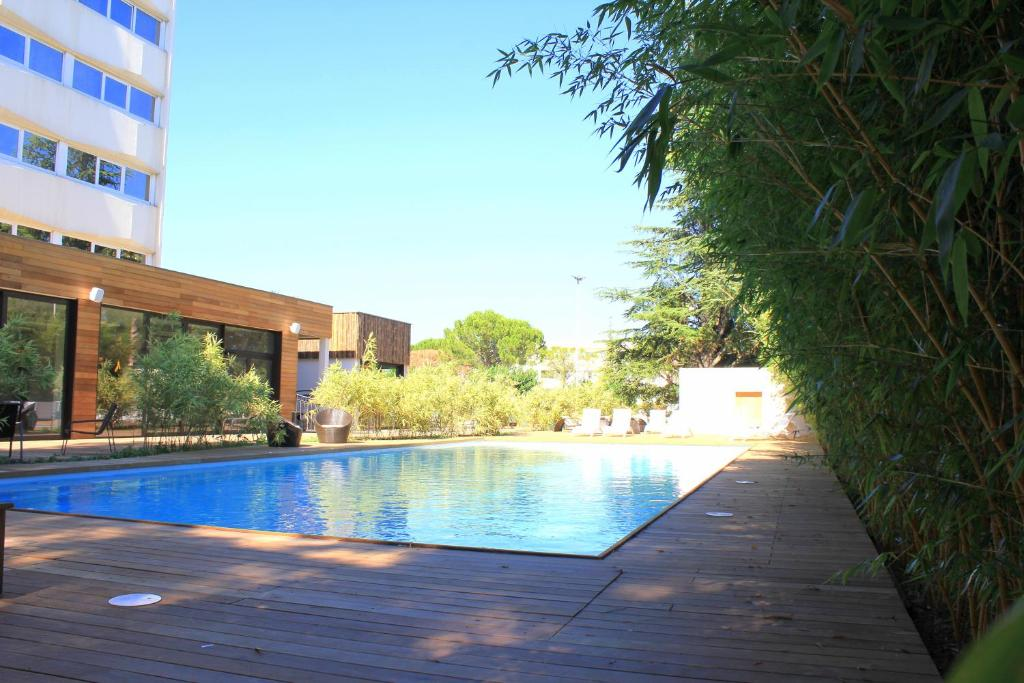 The swimming pool at or near C Suites