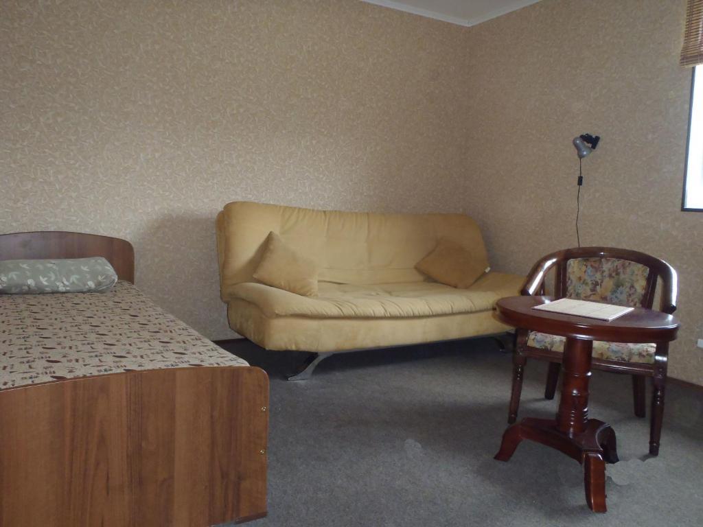 Гостиная зона в Гостевой Дом Бай-Куль