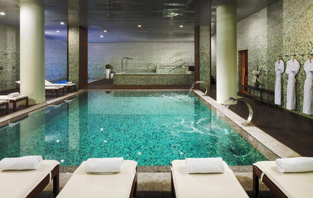 The swimming pool at or near H10 Marina Barcelona