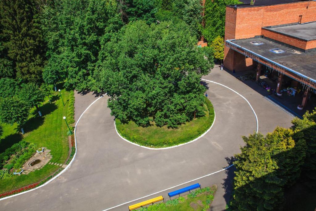 A bird's-eye view of Zvenigorodsky Resort