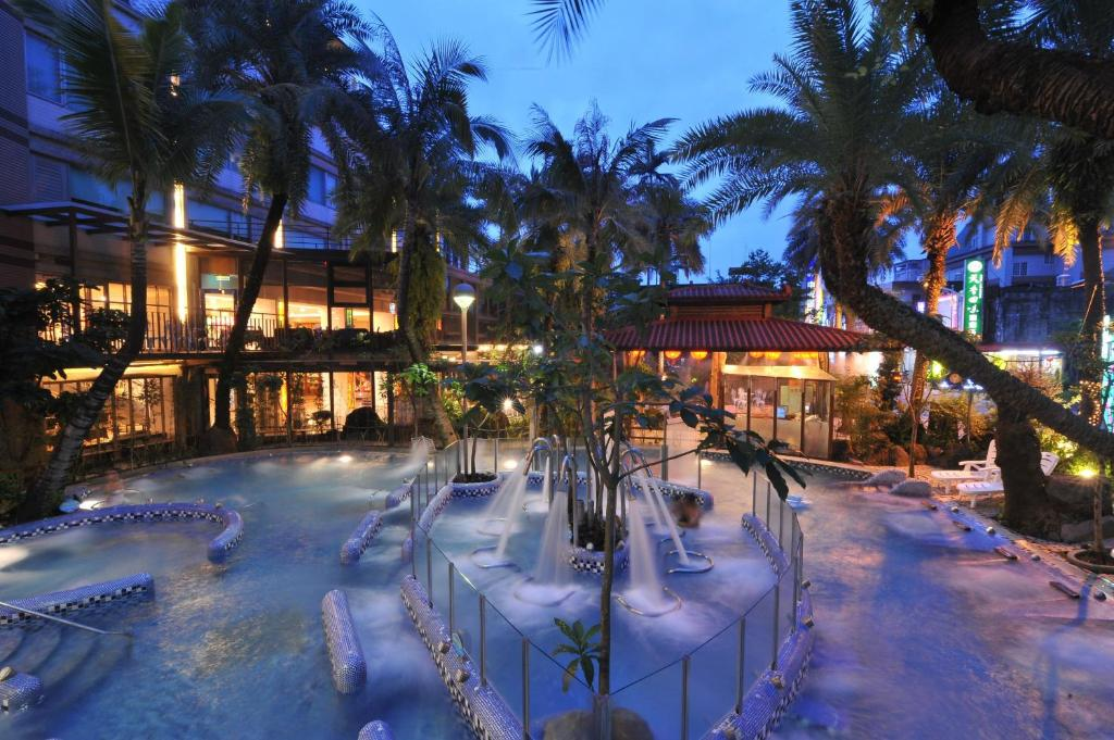 The swimming pool at or near Art Spa Hotel