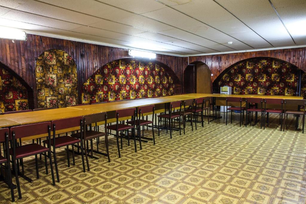The lounge or bar area at Zvenigorodsky Resort