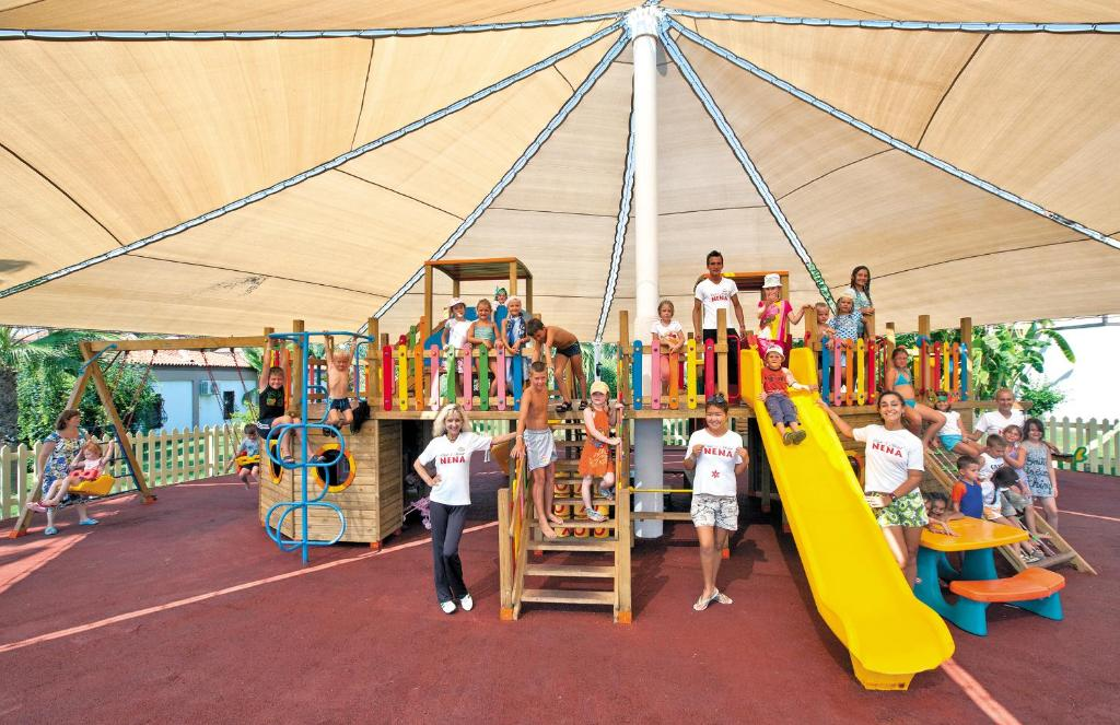 Zona de joacă pentru copii de la Club Nena - All Inclusive
