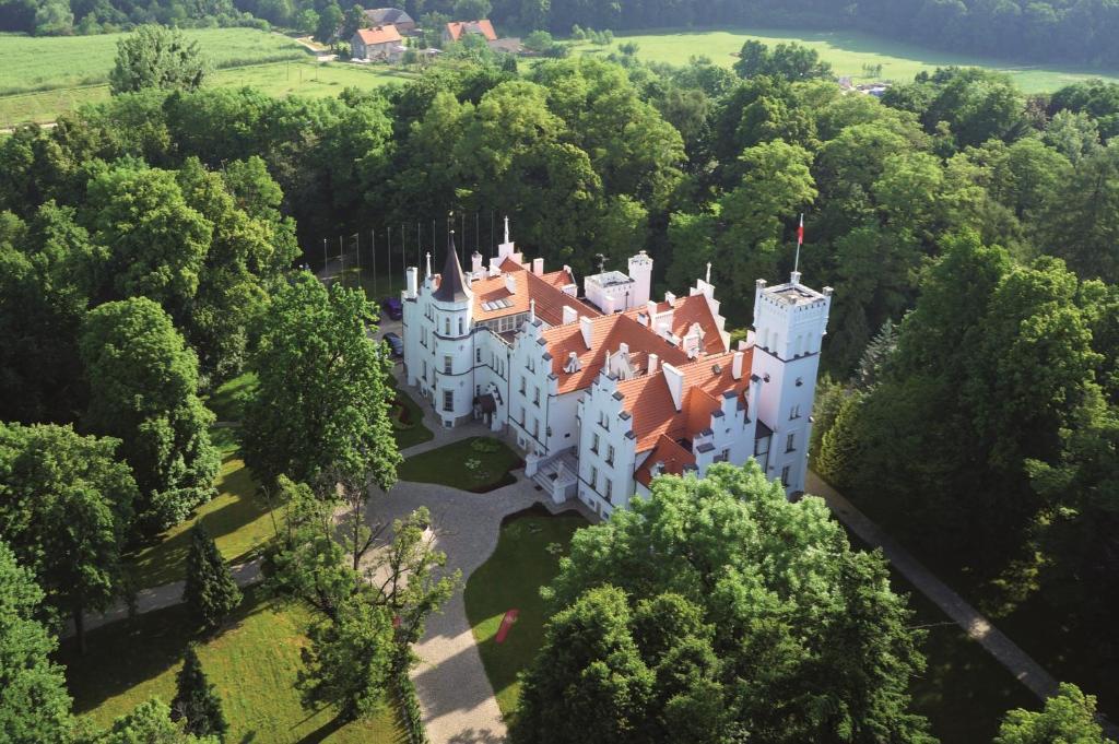 Pałac Sulisław с высоты птичьего полета