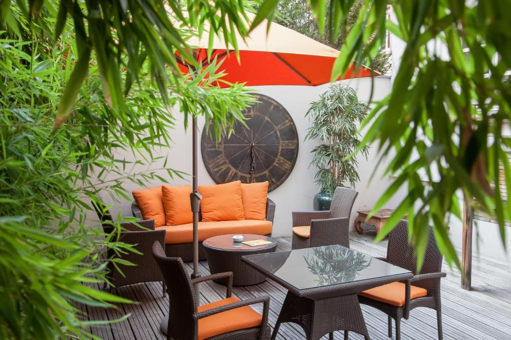 Terrasse ou espace extérieur de l'établissement Best Western Plus Hotel Villa D'est