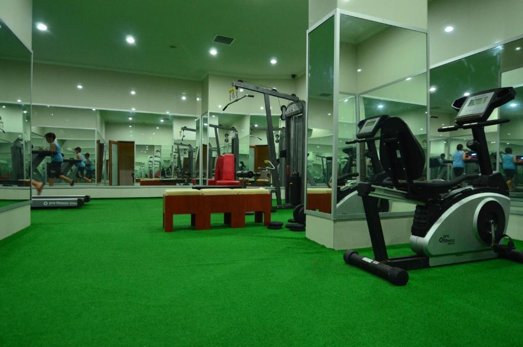 Фитнес-центр и/или тренажеры в Artemis Princess Hotel