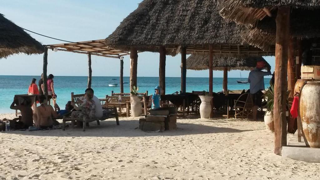Пляж на территории лоджа или поблизости