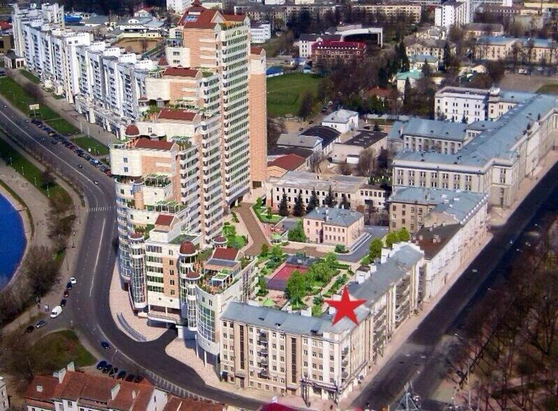 A bird's-eye view of Respect Aparts Hostel