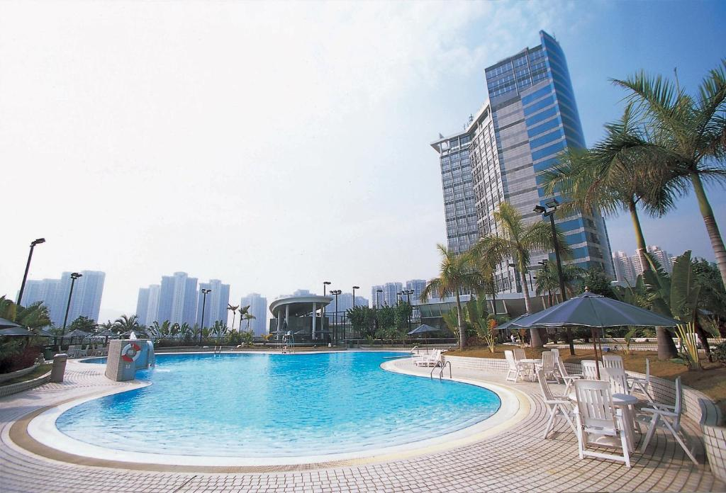 The swimming pool at or near Harbour Plaza Resort City