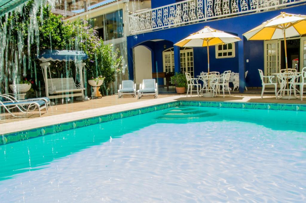 The swimming pool at or near Pousada Portal do Mar