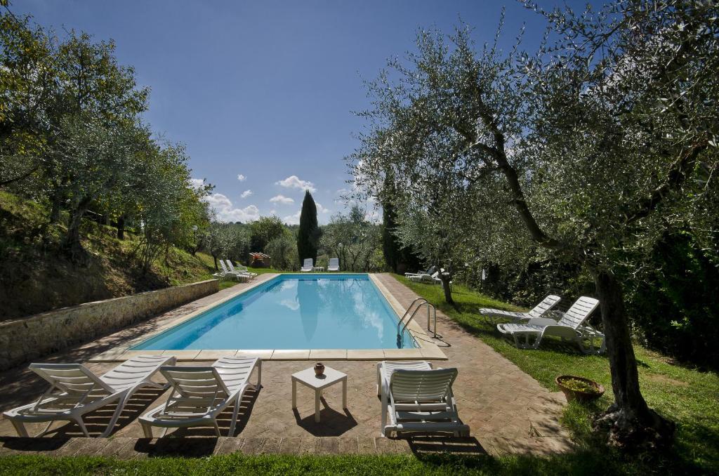 The swimming pool at or near Agriturismo Il Sambuco