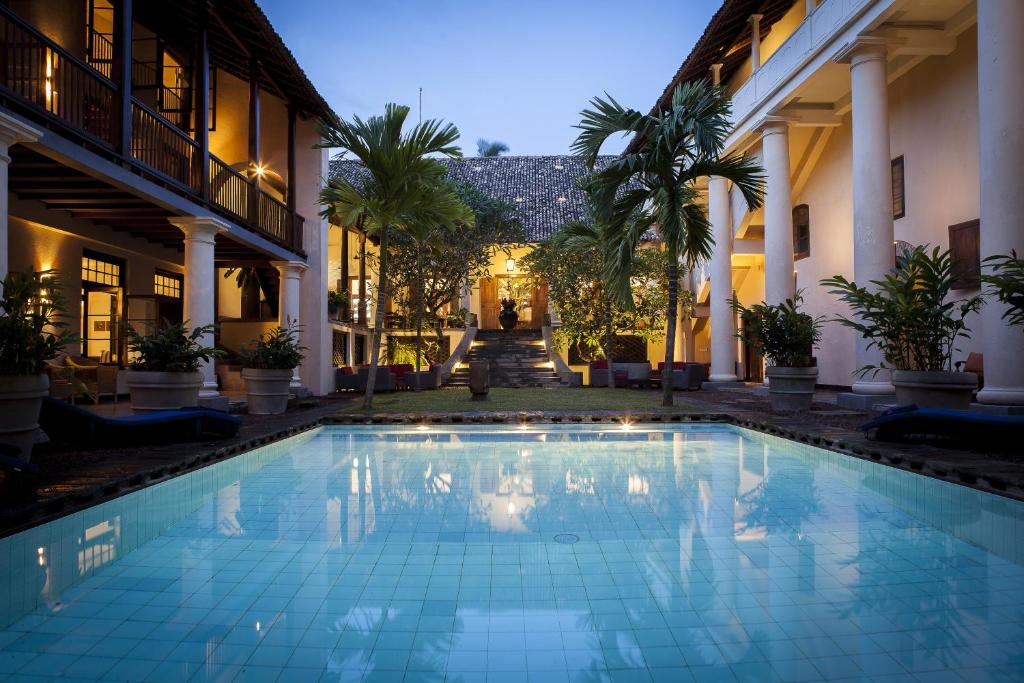 The swimming pool at or close to The Galle Fort Hotel