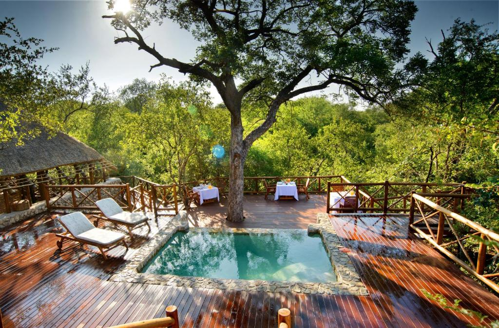 The swimming pool at or near La Kruger Lifestyle Lodge