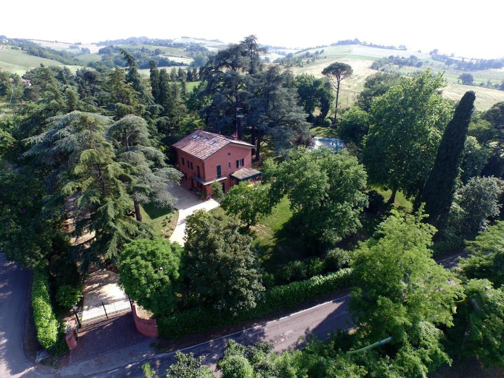 A bird's-eye view of Villa Resta & Dependance