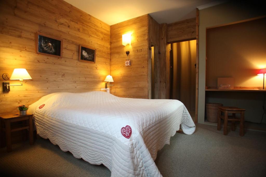 Un ou plusieurs lits dans un hébergement de l'établissement La Ferme du Père François