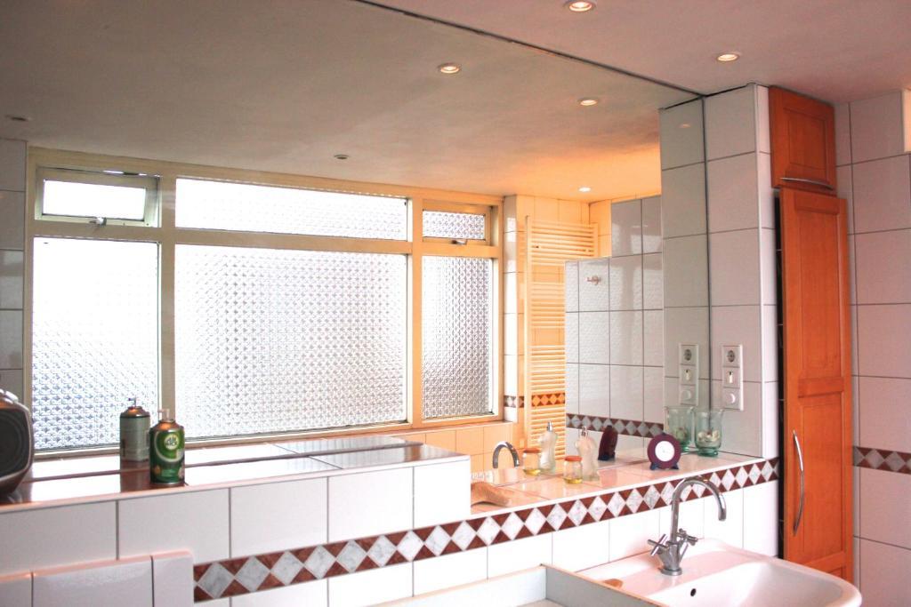 A bathroom at Pension Marco