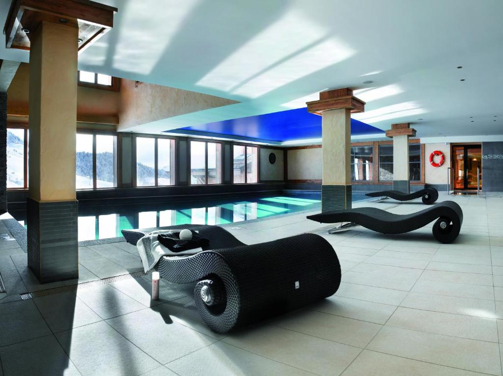 The swimming pool at or near CGH Résidences & Spas Le Village De Lessy