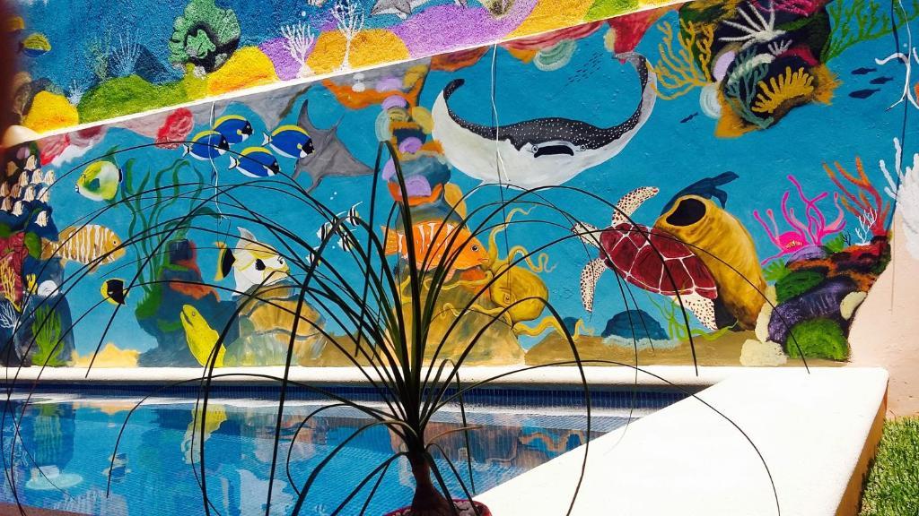 Der Swimmingpool an oder in der Nähe von Maya Vacanze Calle 4