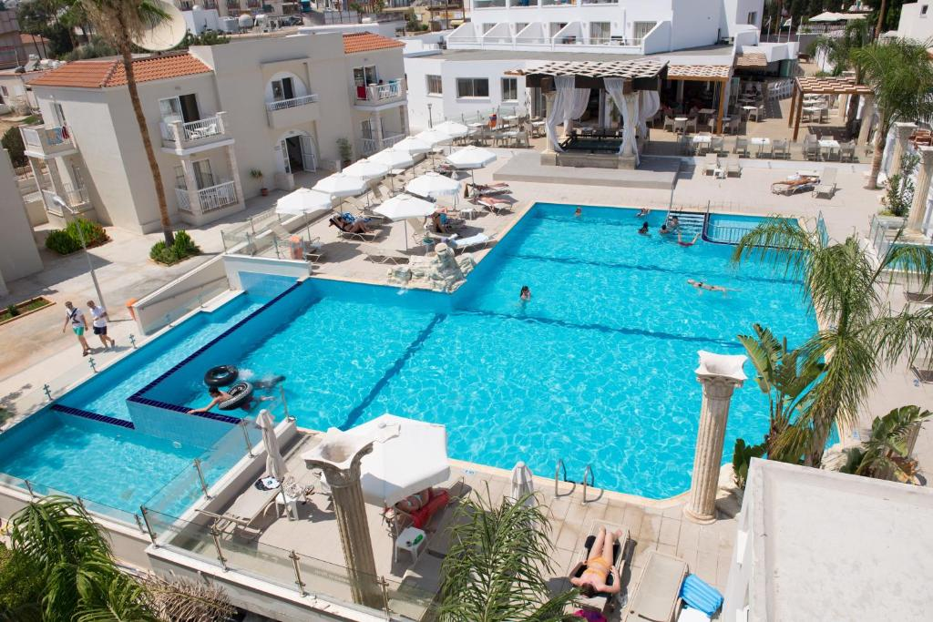 A view of the pool at New Famagusta Hotel or nearby