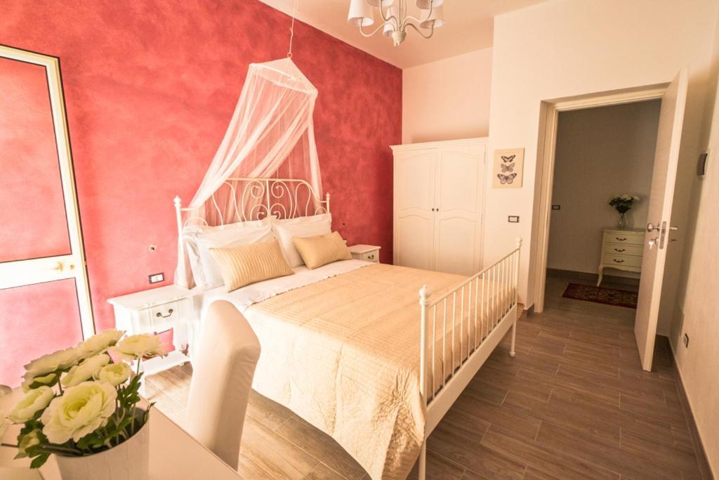 Postel nebo postele na pokoji v ubytování Venustas