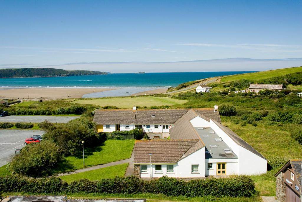 A bird's-eye view of YHA Broad Haven