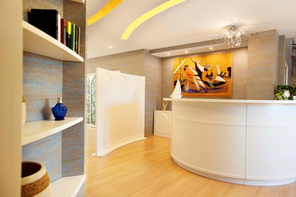 Hall o reception di FAVIGNANA HOTEL Concept Holiday